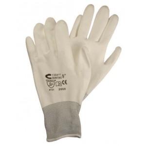 Rękawice Buck białe
