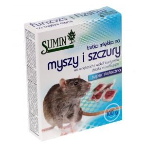 Sumin trutka miękka na myszy i szczury 100g