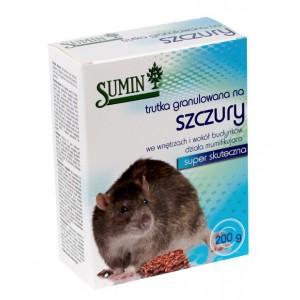 Sumin trutka granulowana na szczury 200g