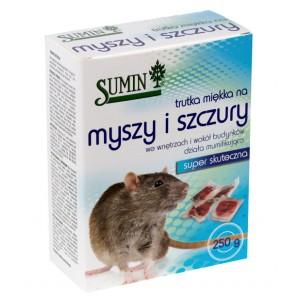 Sumin trutka miękka na myszy i szczury 250g